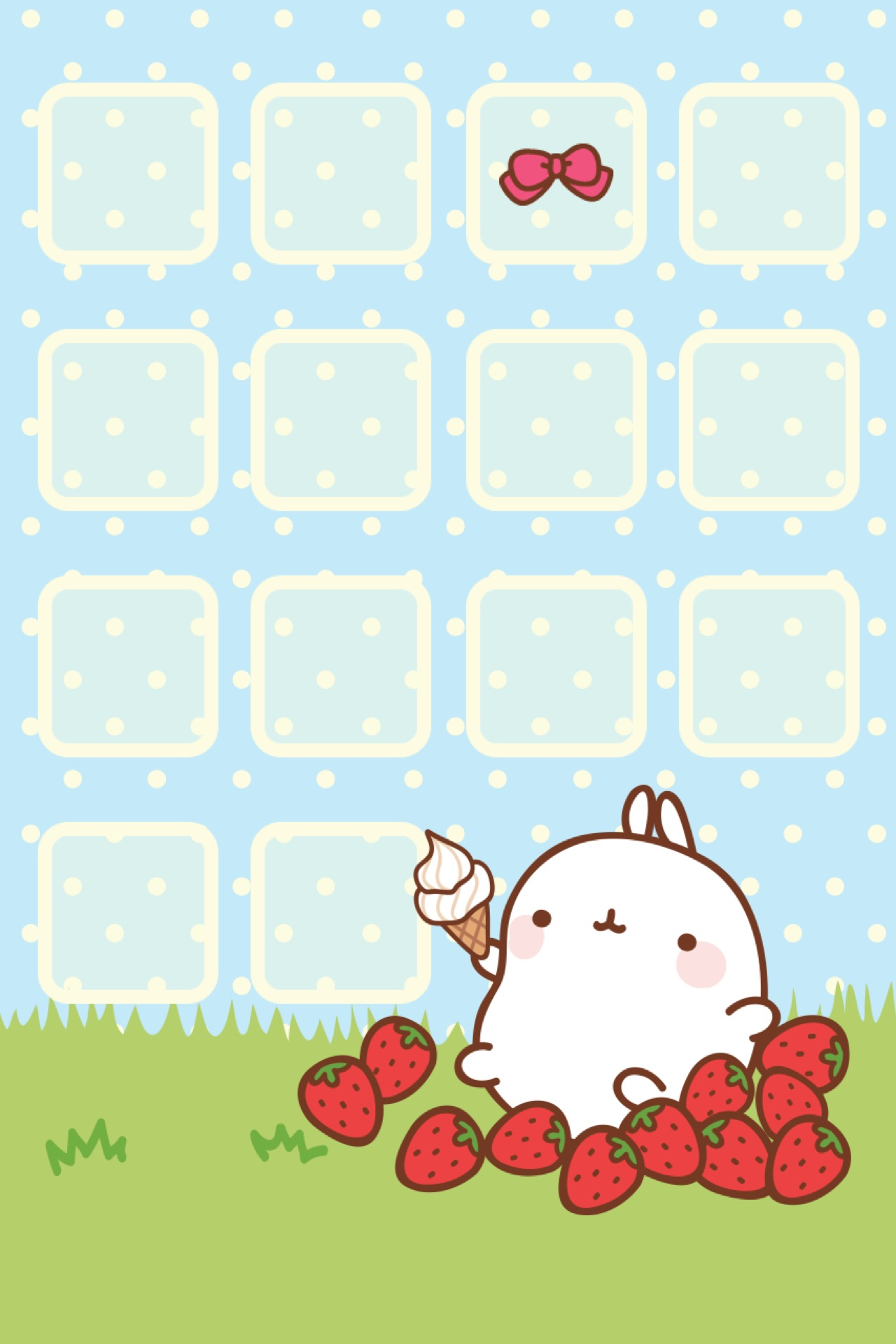 Kawaii Iphone 4 Wallpaper