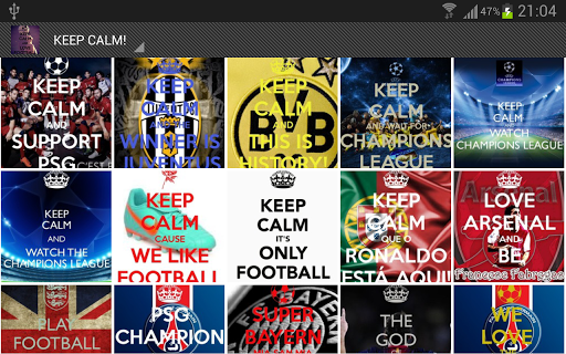 Download Keep Calm And Play Football Wallpaper Gallery