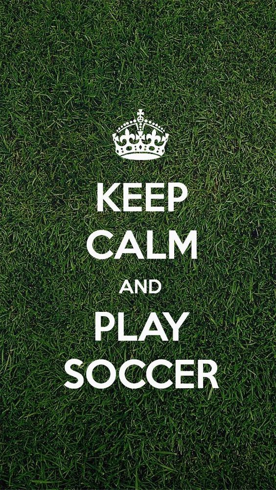 Keep Calm And Play Football Wallpaper