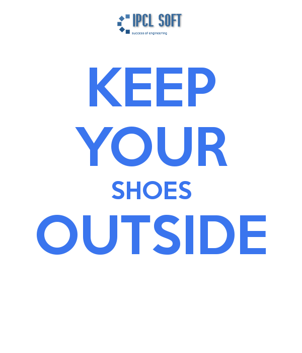 Keep Your Shoes Outside Wallpaper