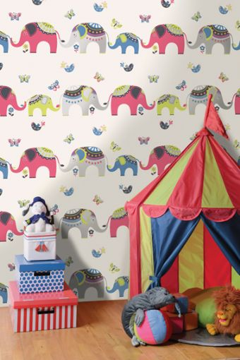 Kids Elephant Wallpaper