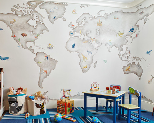 Kids Playroom Wallpaper