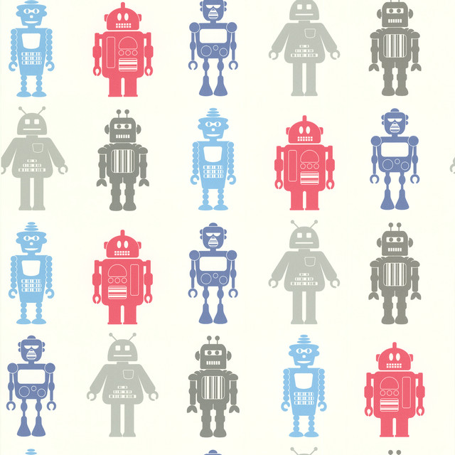 Kids Robot Wallpaper