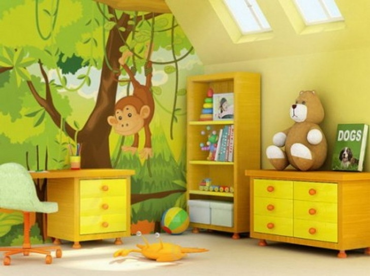 Kids Room Wallpaper India