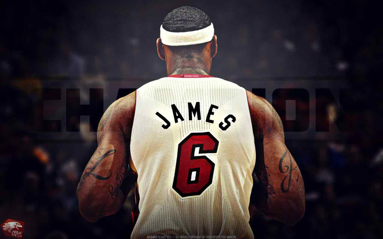 King James Wallpaper