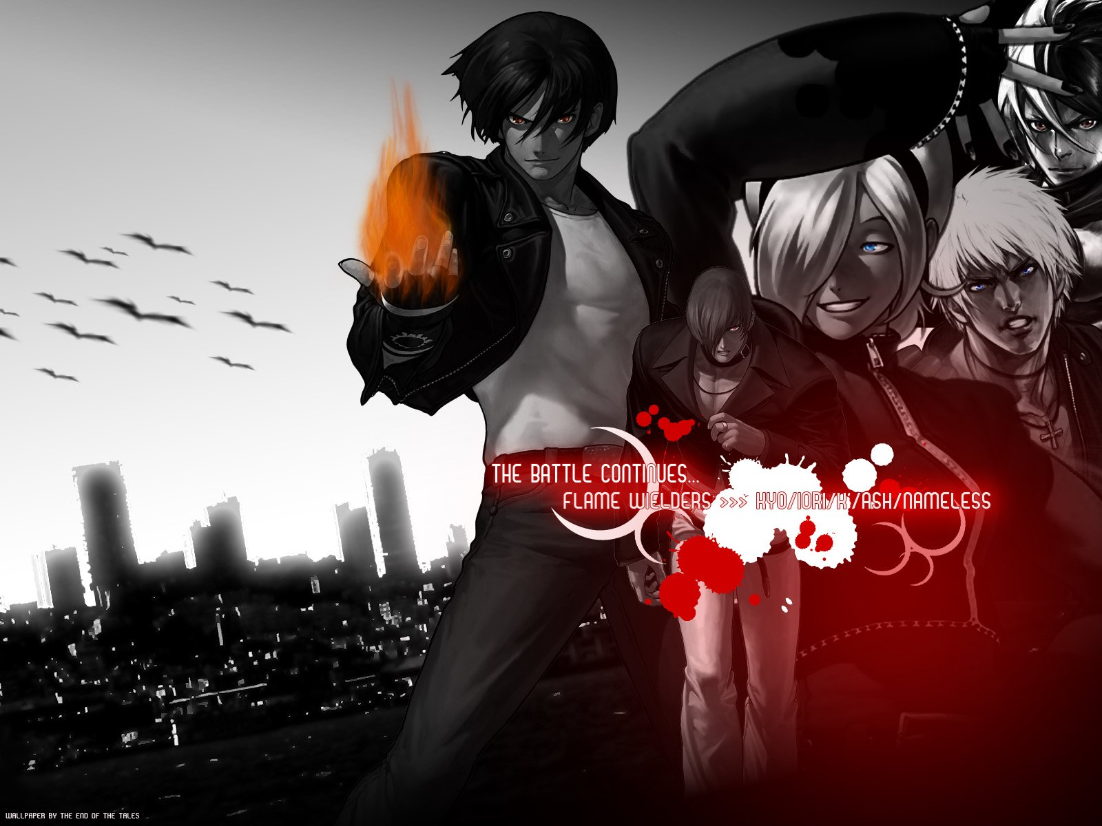 King Of Fighters Wallpaper
