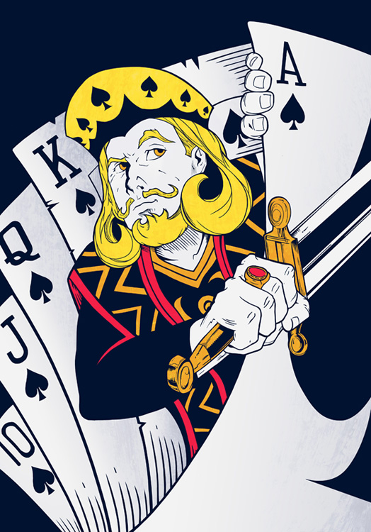 King Of Spades Wallpaper