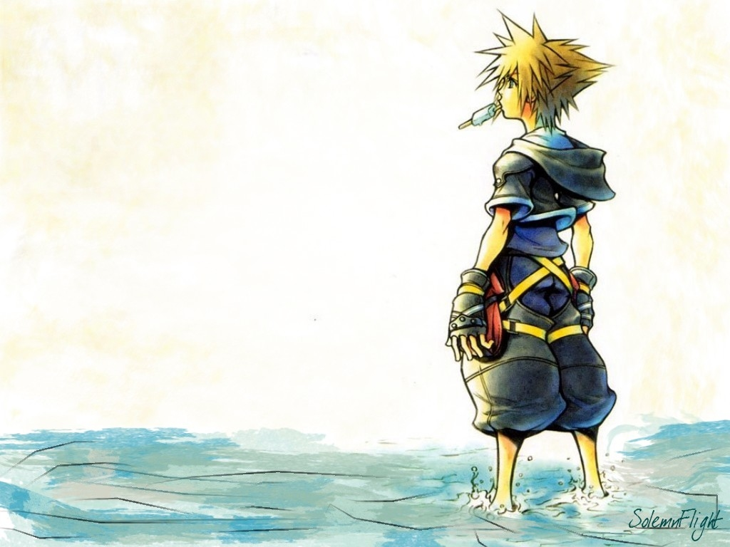 Kingdom Hearts 2 Sora Wallpaper