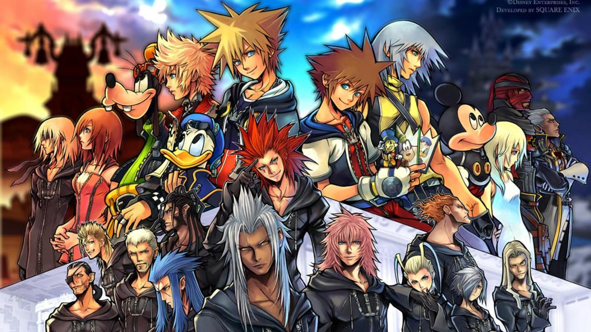 Kingdom Hearts 2 Wallpaper