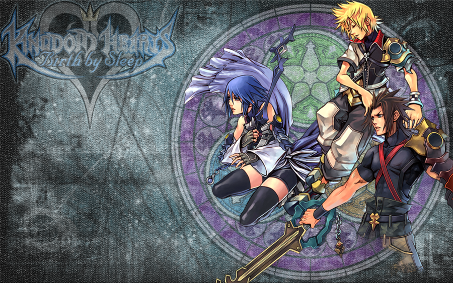 Kingdom Hearts Birth By Sleep Wallpaper