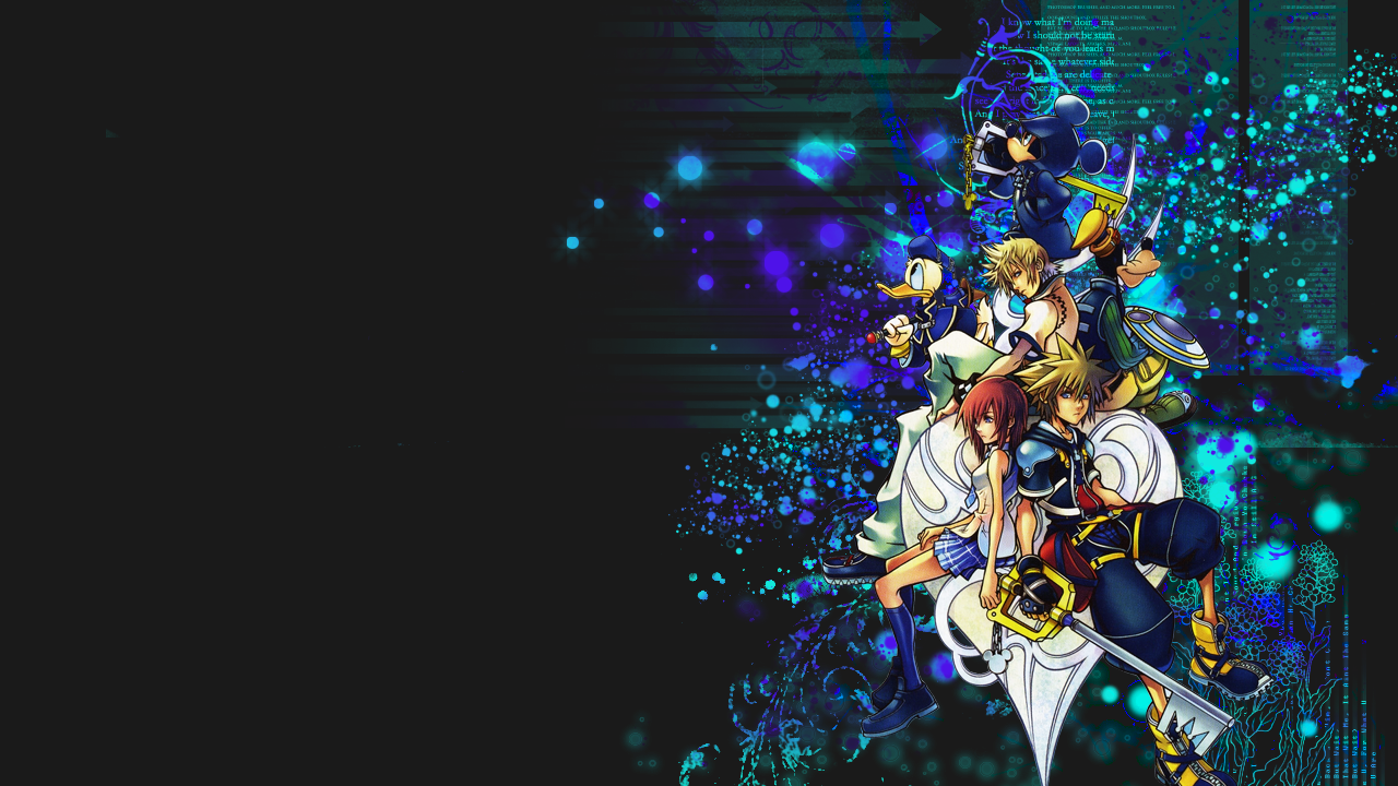 Kingdom Hearts Desktop Wallpapers