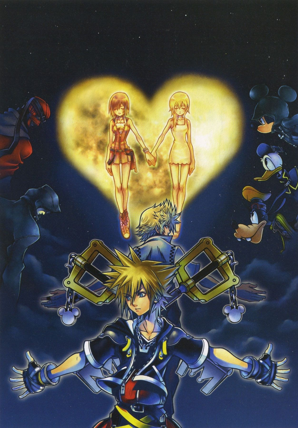 Kingdom Hearts Phone Wallpaper