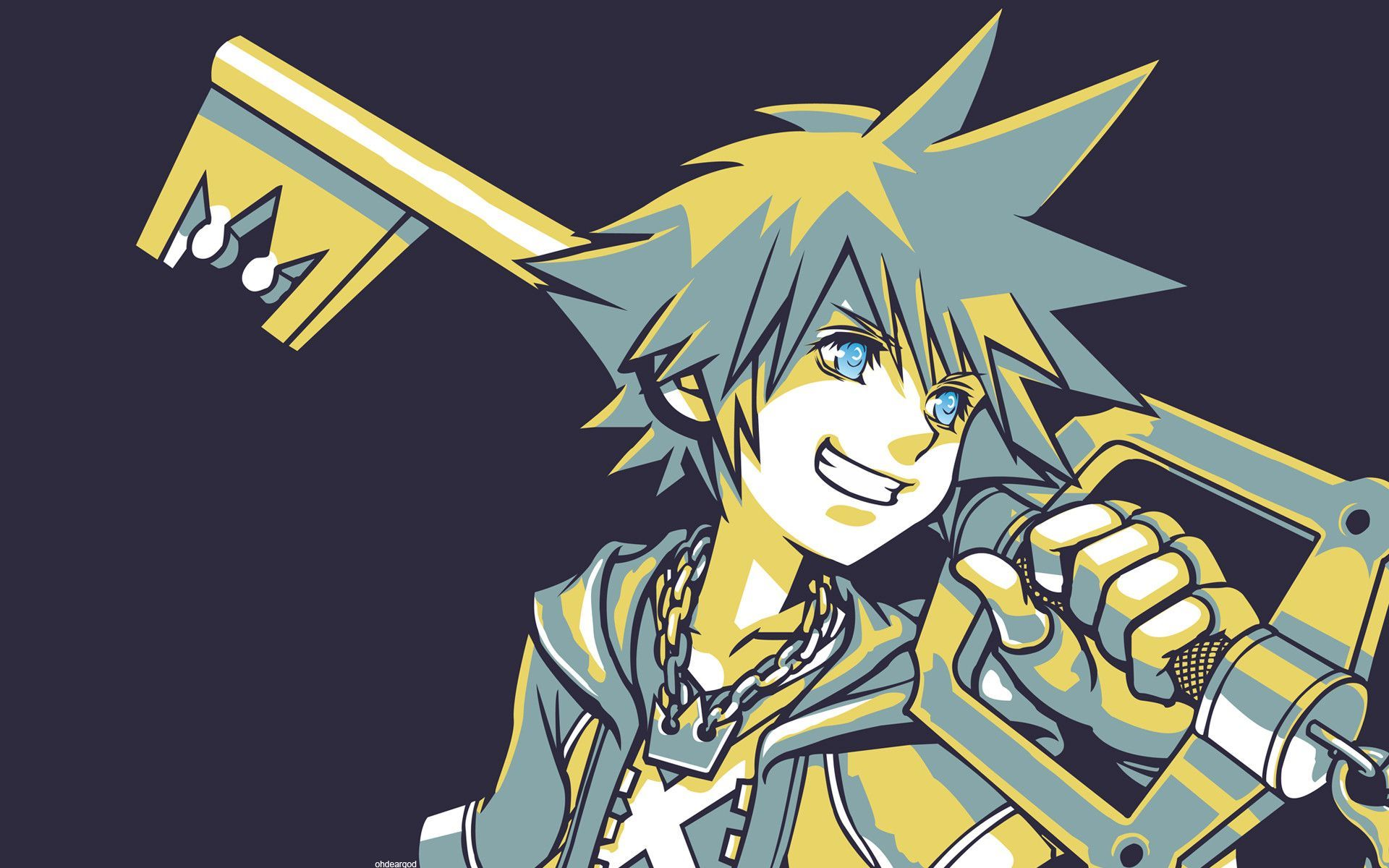 Kingdom Hearts Sora Wallpaper