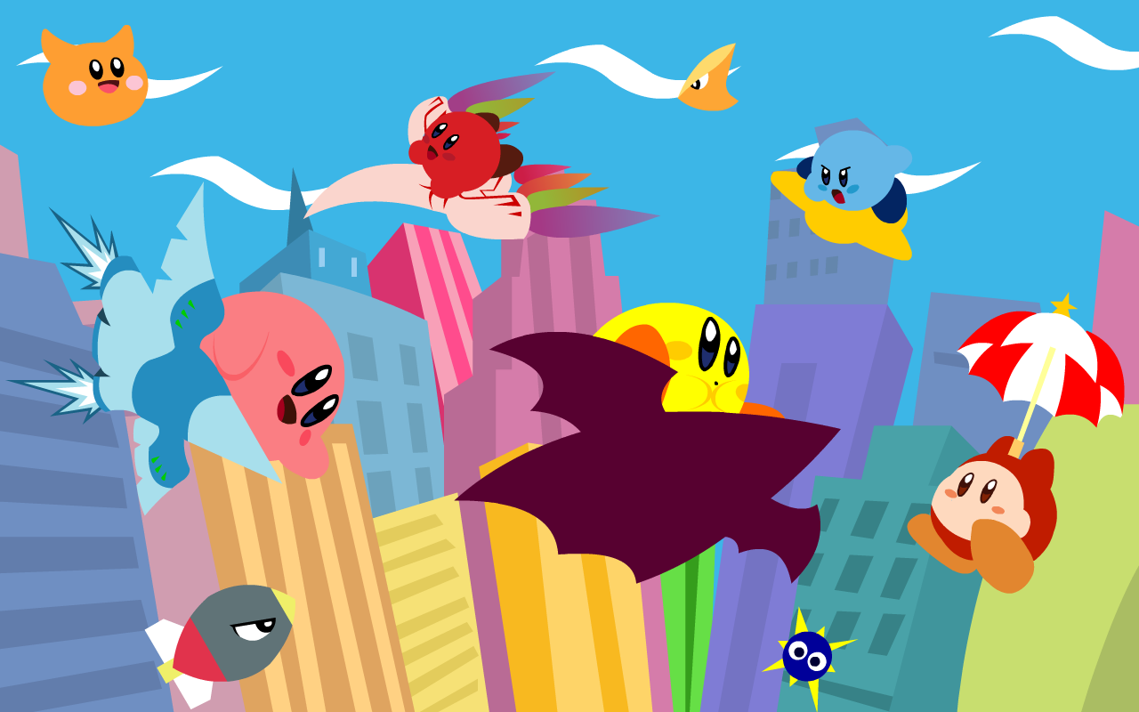 Kirby Air Ride Wallpaper