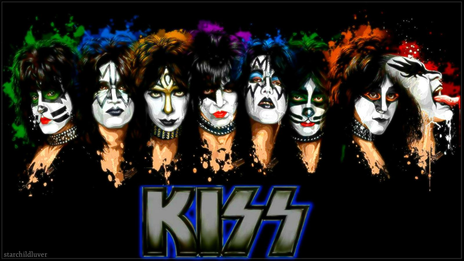 Kiss Band Wallpaper