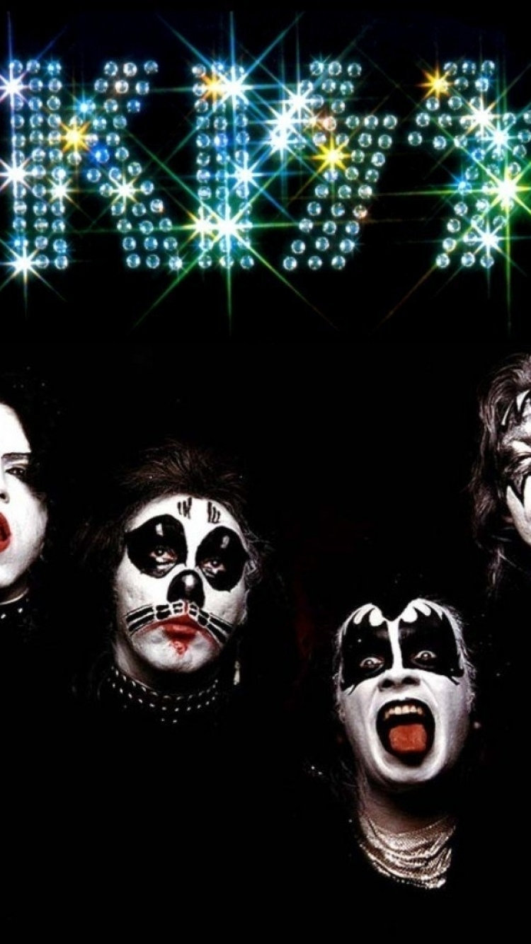 Kiss Iphone Wallpaper