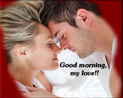 Good Morning My Love Couple Images : Download kissing good morning wallpaper gallery