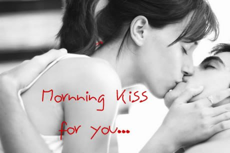 Kissing Good Morning Wallpaper