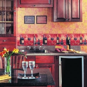 Kitchen Wallpaper Border Ideas