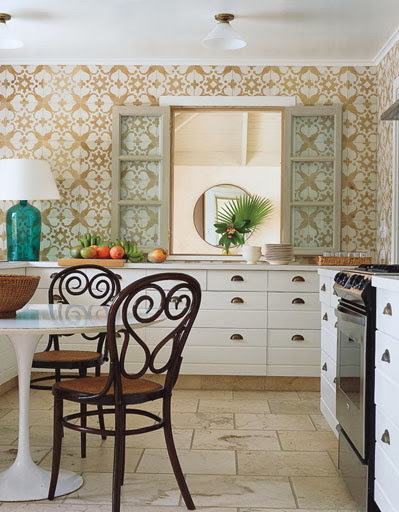 Kitchen Wallpaper Vinyl