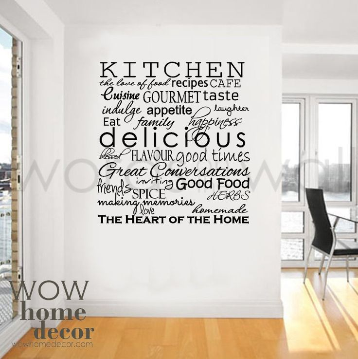 Kitchen Wallpaper With Words