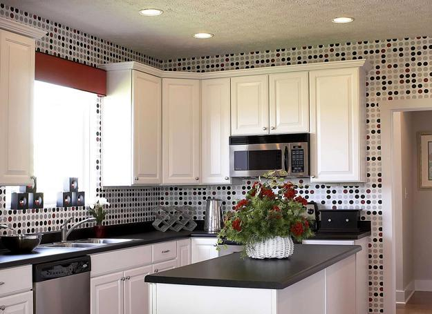 Kitchens With Wallpaper