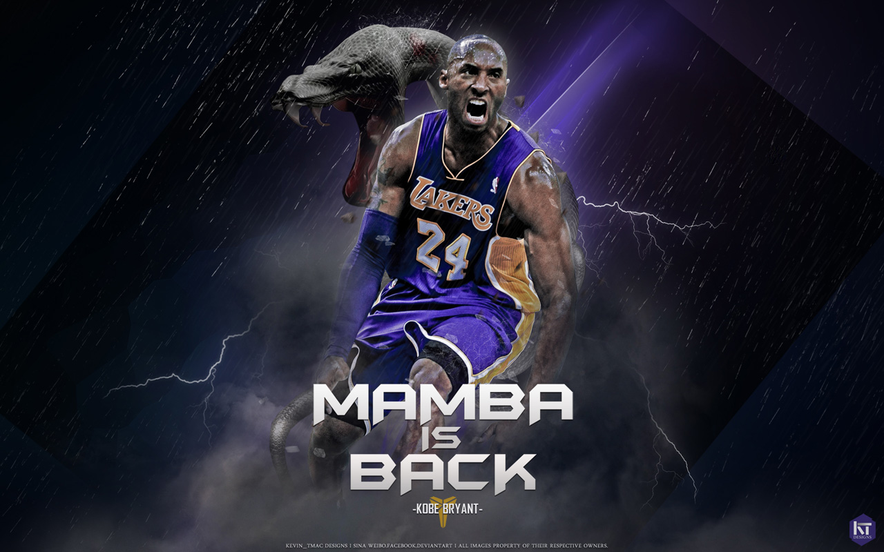 Kobe Bryant Wallpaper Black Mamba