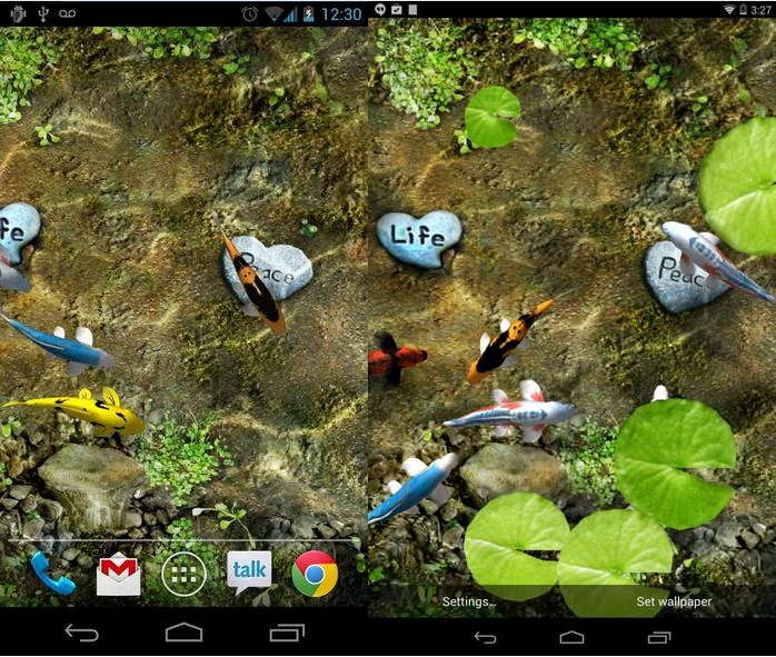 download koi live wallpaper gallery
