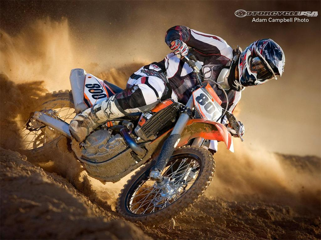 Ktm Dirt Bike Wallpaper