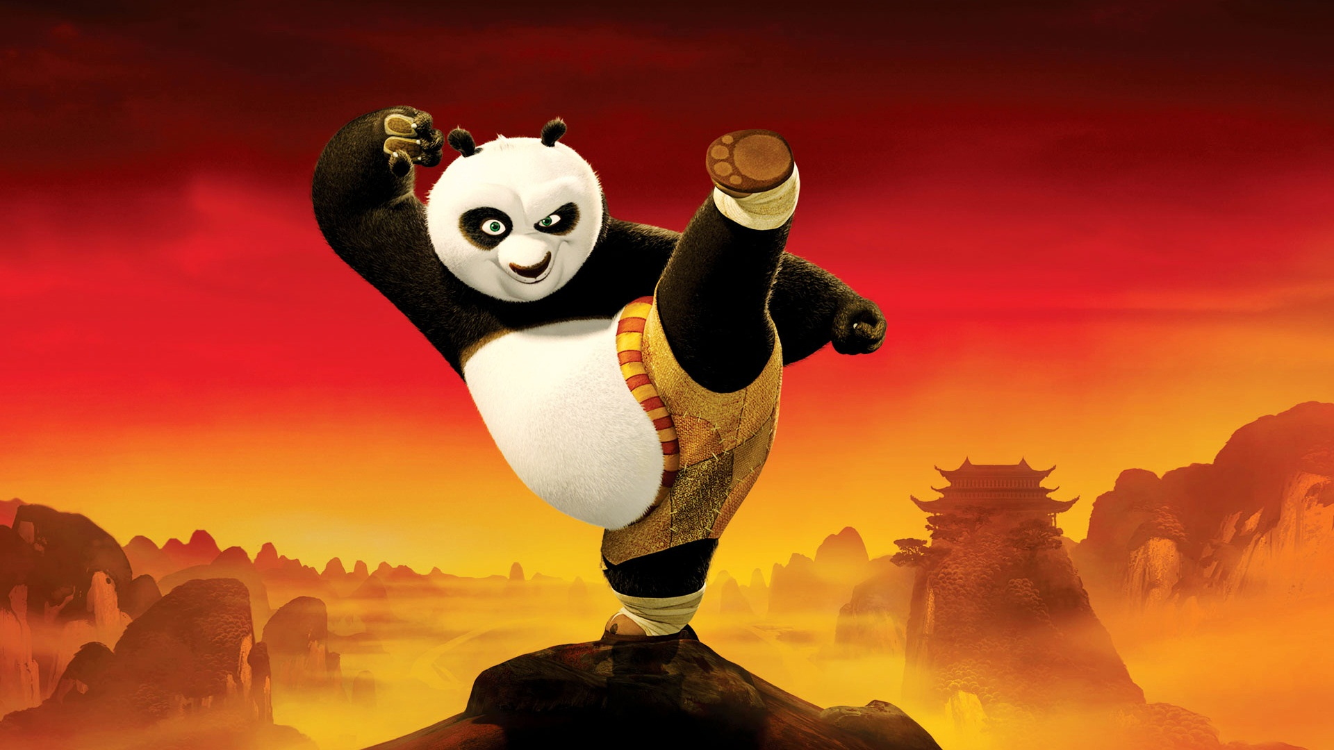 Kung Fu Panda HD Wallpapers Free Download