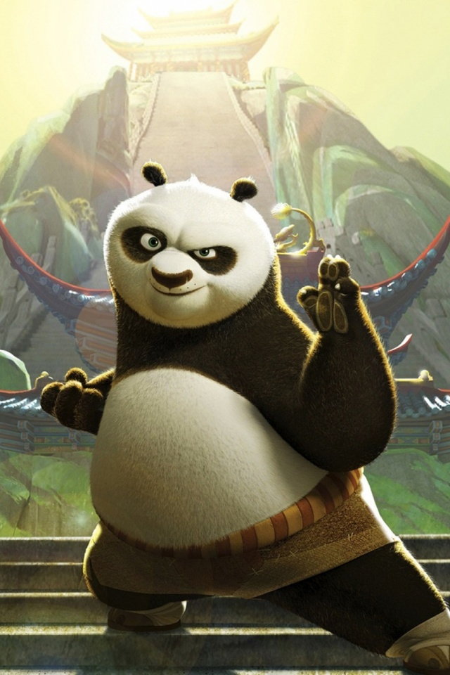 Kung Fu Panda Mobile Wallpapers