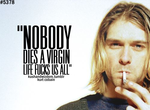 Kurt Cobain Quotes Wallpaper
