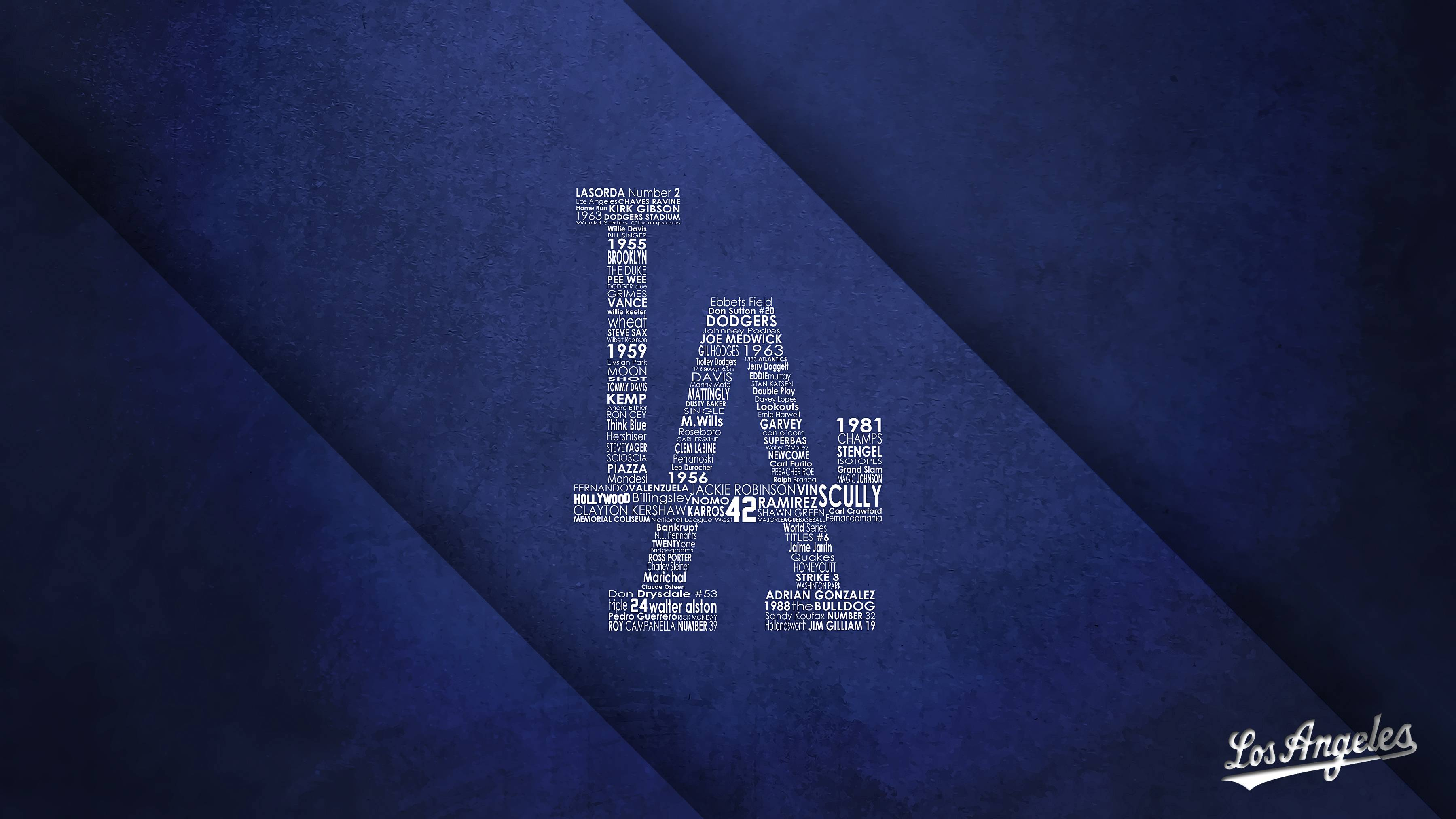 L.A. Dodgers Wallpaper