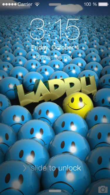 Laddu Name Wallpaper