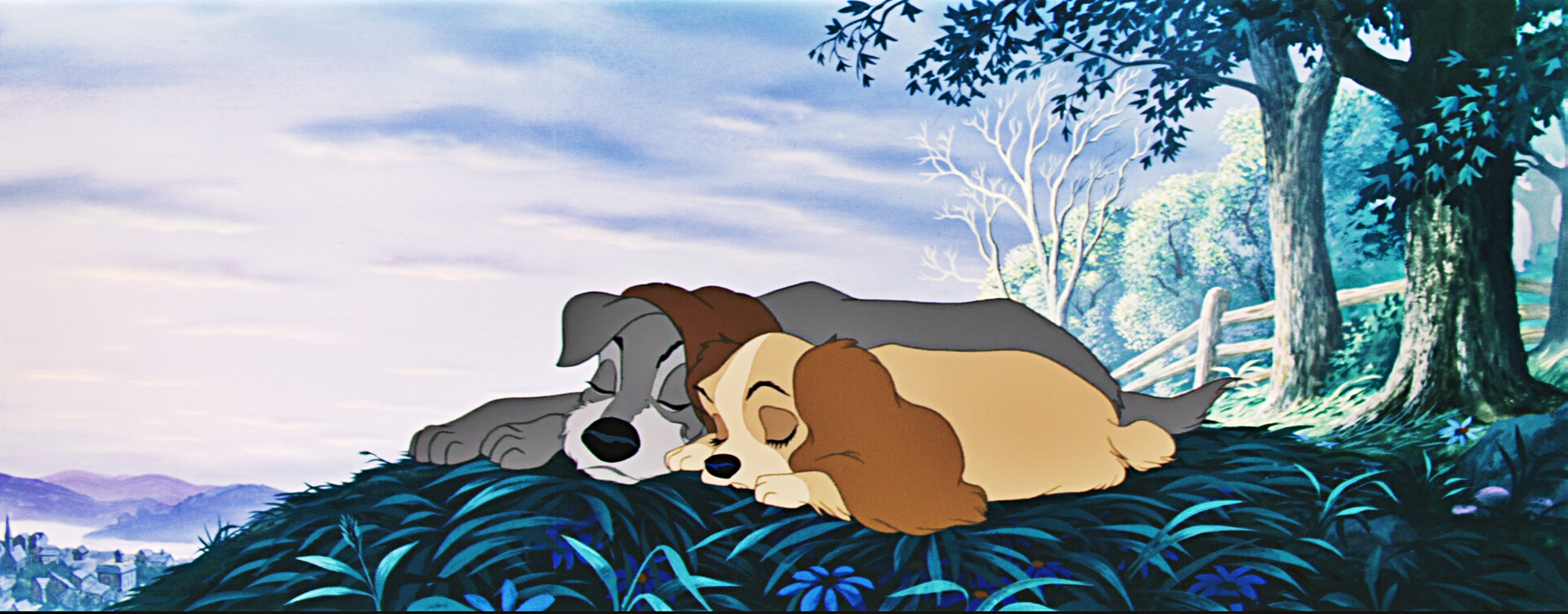 Lady And The Tramp Wallpaper
