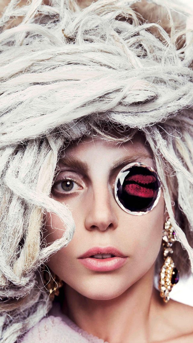 Lady Gaga Phone Wallpaper
