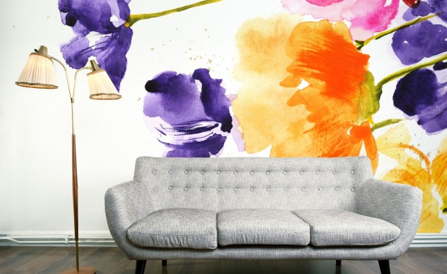 Large Scale Wallpaper