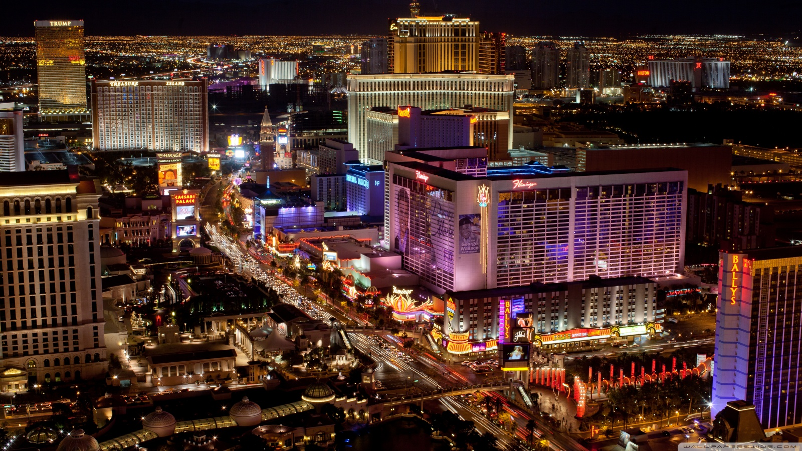 Las Vegas Strip HD Wallpaper