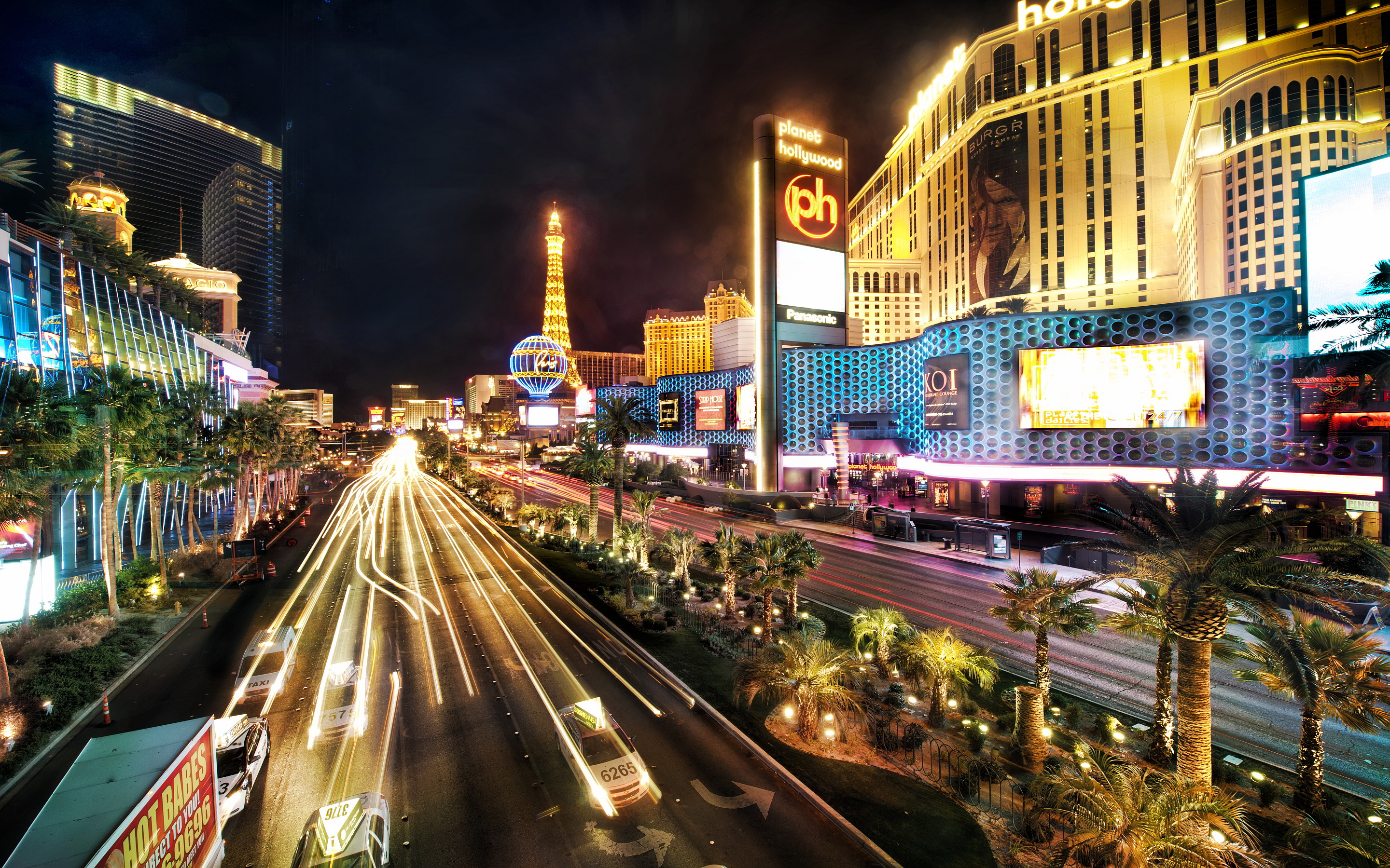 Las Vegas Strip Wallpaper