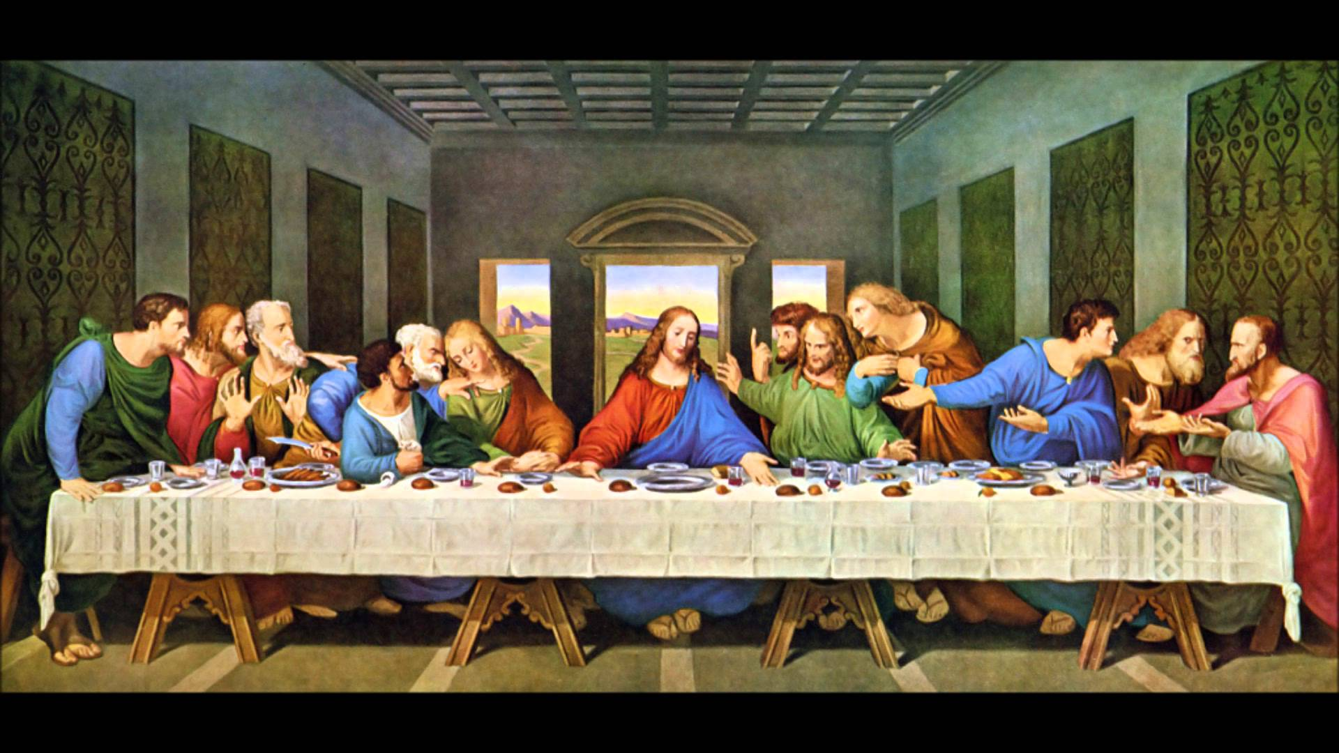 comparing the last supper