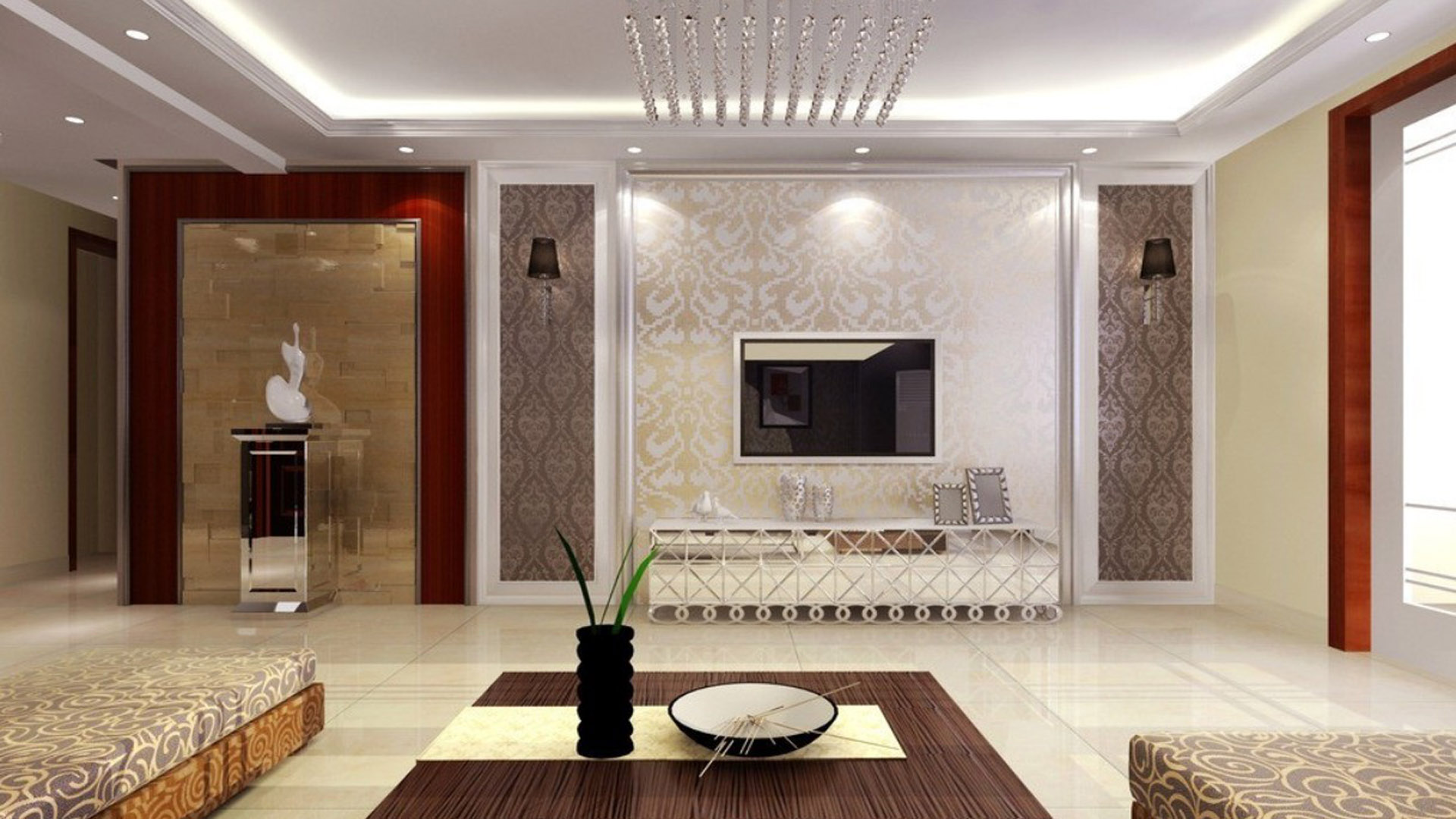 Download Latest Wallpaper For Living Room Gallery