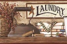 Laundry Wallpaper