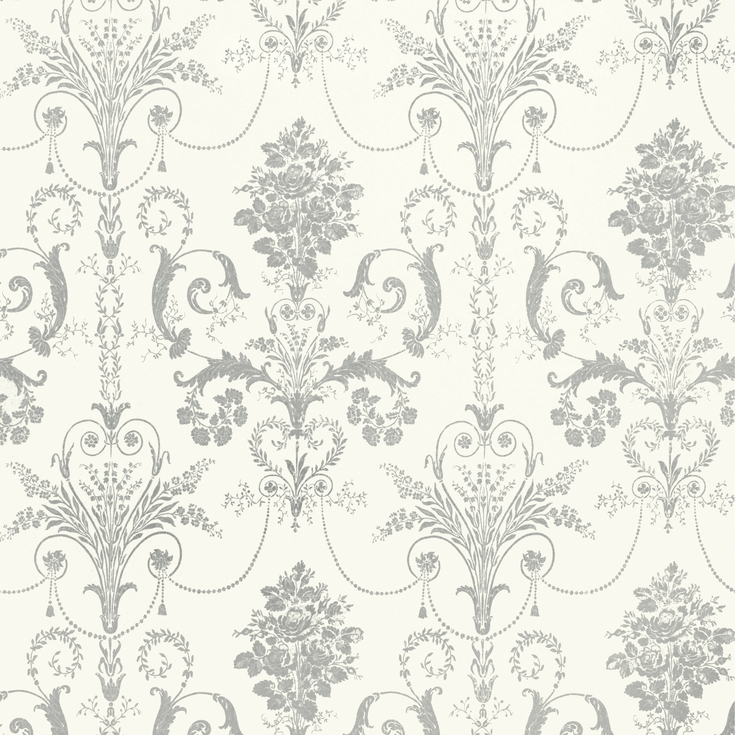 Laura Ashley Black And White Wallpaper