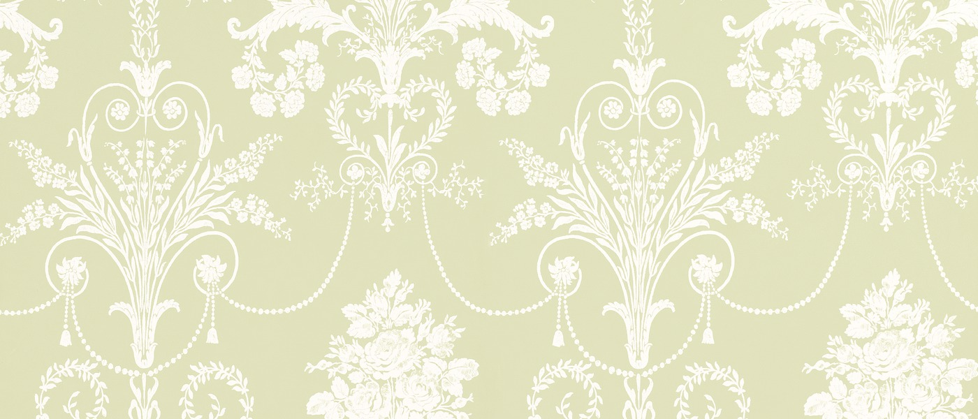 Laura Ashley Green Wallpaper