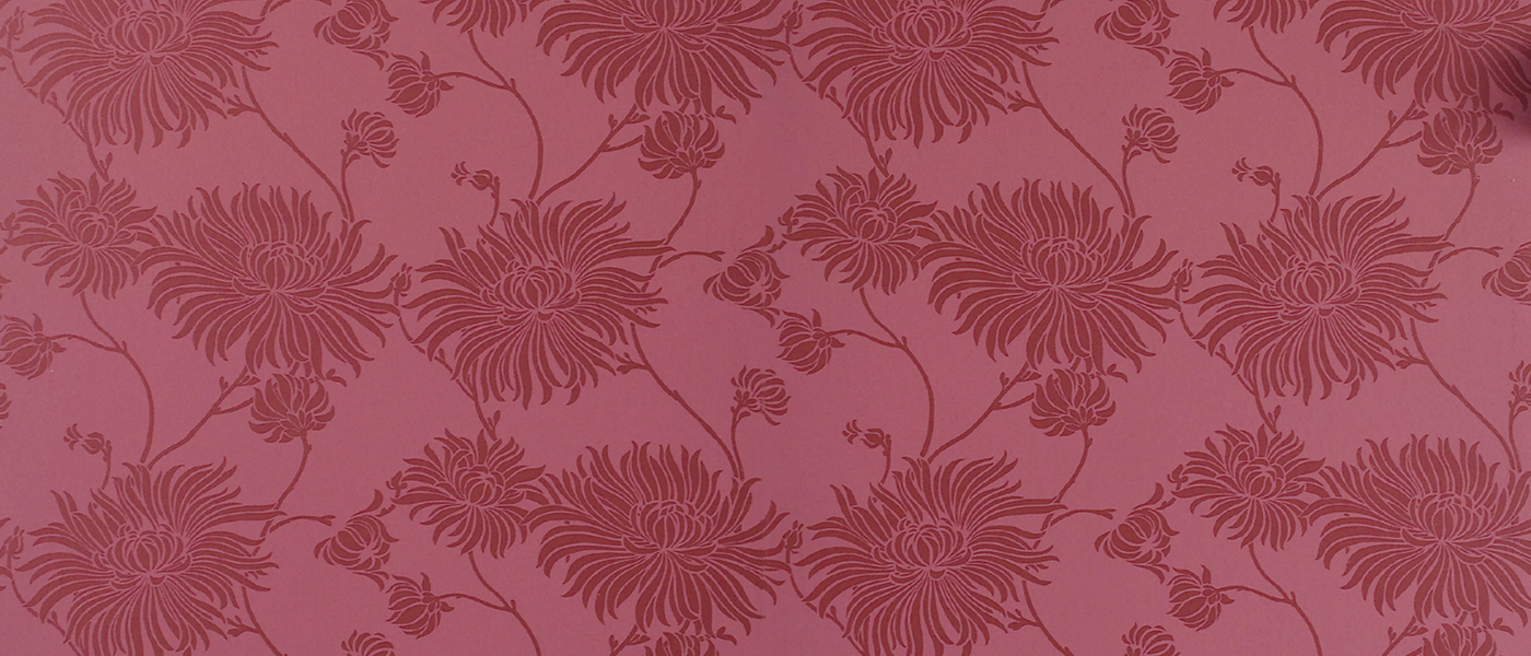 Laura Ashley Red Wallpaper