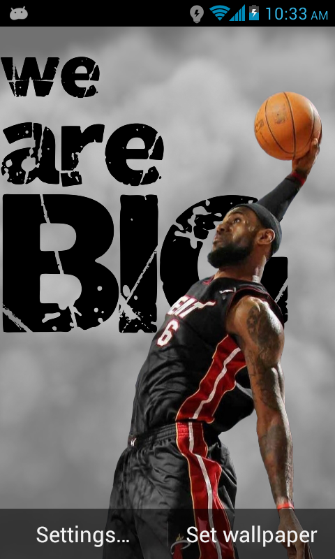 Lebron James Animated Wallpaper
