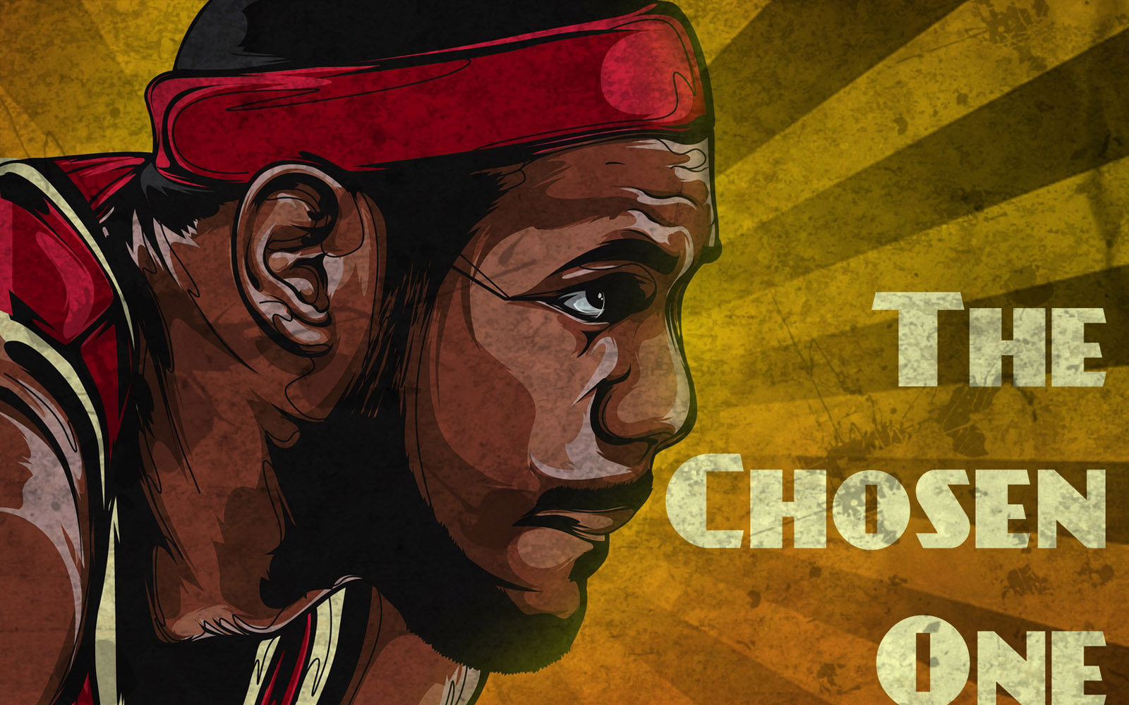 Lebron James Cartoon Wallpaper