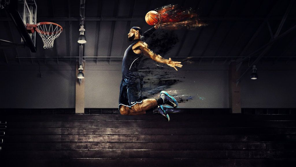 Lebron James Dunk Wallpaper
