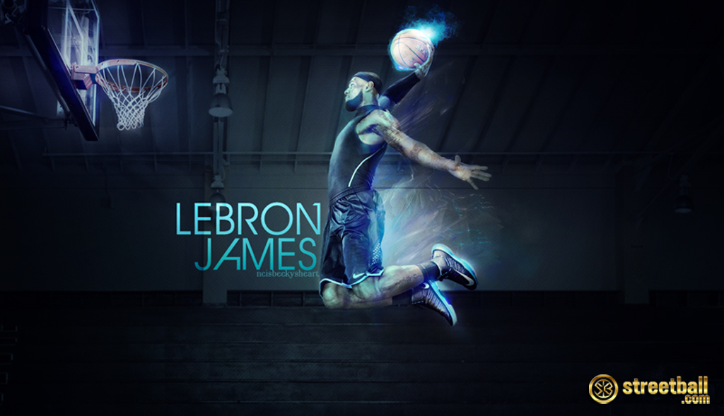Lebron James Dunking Wallpaper