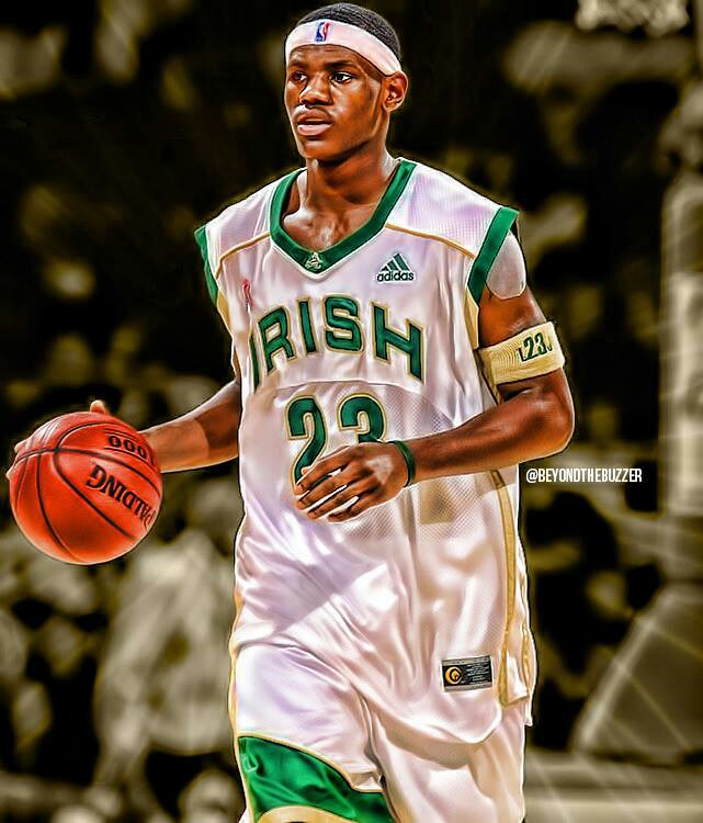 Lebron James High School Wallpaper